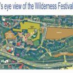 Wilderness Festival Bird Eye View